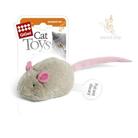 GiGwi Игрушка для кошек Мышка с электронным чипом 6 см