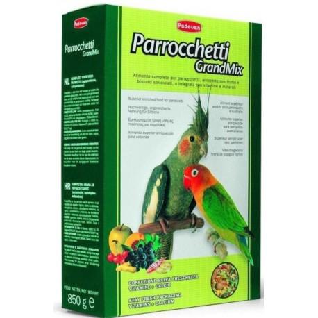 Padovan GrandMix Parrocchetti Падован Основной корм для средних попугаев