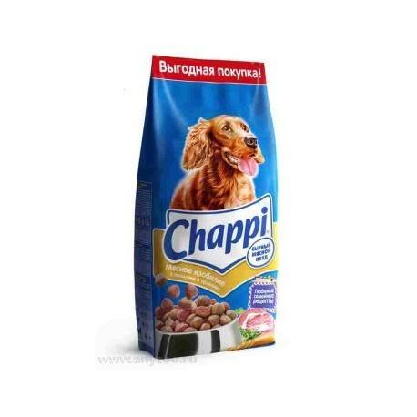 Chappi - Чаппи корм для собак сытный мясной обед (мясное изобилие)
