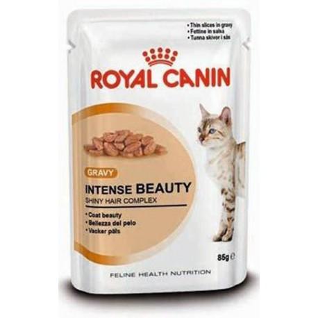 Royal Canin Intense Beauty Консервы для кошек с чувствительной кожей и проблемной шерстью в соусе
