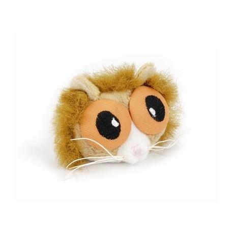 I.P.T.S. 440492 Игрушка для кошек Белка с большими глазами, плюш 6см