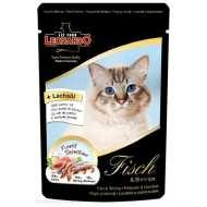 Leonardo - Пауч для кошек с Рыбой и Креветками