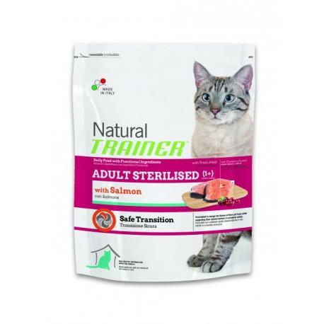 Trainer Natural Adult Sterilised Salmon Сухой корм для стерилизованных кошек с лососем