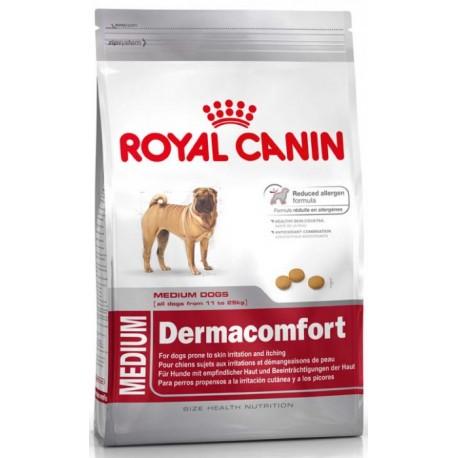 Royal Canin Medium Dermacomfort- Роял Канин для собак средних пород склонных к кожным раздражениям