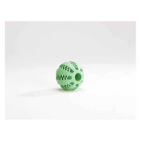 I.P.T.S. 625407 Игрушка для собак Мяч массажный с запахом мяты для ухода за зубами, резина 7см