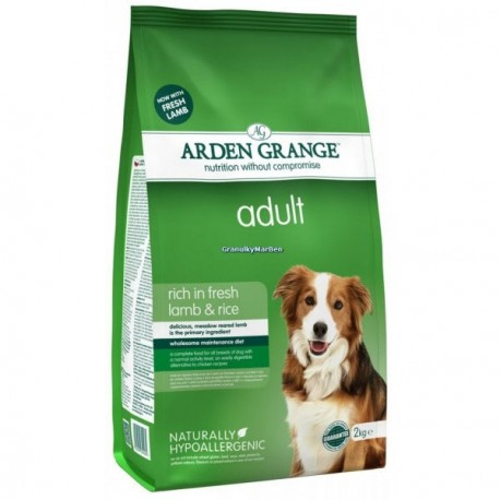 Arden Grange Adult Lamb & Rice Арден Грандж сухой корм взрослых собак Ягненок/рис