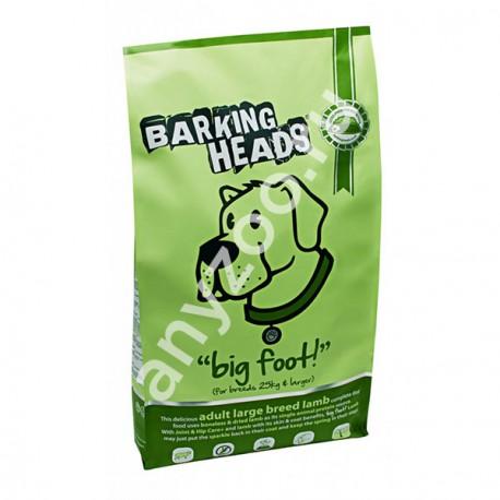 Barking Heads Ягненок для Большелапого Сухой корм для собак крупных пород с ягненок с рисом