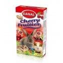 Sanal-Санал лакомство для грызунов с наполнителем из вишни 45гр