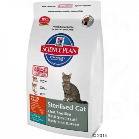 Hills SP Feline Adult  Sterilised Cat Tuna Хиллc корм для стерилизованных кошек до 7 лет Тунец