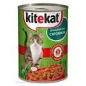 KiteKat - Китикет консервы для кошек (кролик)
