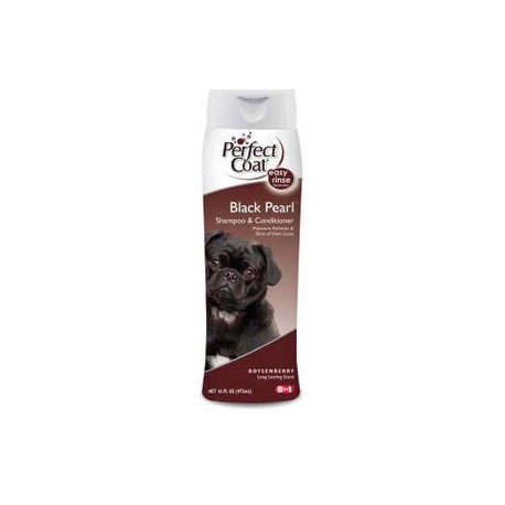 8 in 1 Shampoo Black Pearl шампунь-кондиционер для собак с темной шерстью