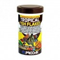 Prodac Продак Tropical fish flakes комплексный корм для всех тропических аквариумных рыб в хлопьях