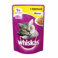Whiskas - Вискас пауч для кошек Желе с курицей