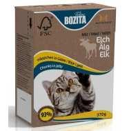 Bozita Tetra Pak Funktion Sensitive Diet&Stomah кусочки Лося в желе чувствительное пищеварение
