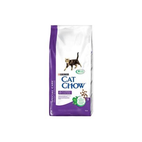 Cat Chow Special Care Кет Чау Спешл сухой корм для взрослых кошек контроль образования комков шерсти