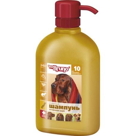 Mr.Bruno - Мистер Бруно Шампунь-кондиционер Огненная заря для рыжих и коричневых окрасов собак 350мл