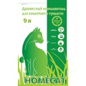 Home Cat древесный наполнитель для кошек