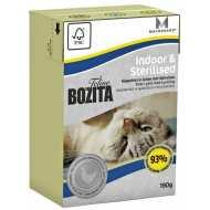 Bozita Tetra Pak Funktion Indoor&Sterilised кусочки Курицы в желе для домашних стерилизованых кошек