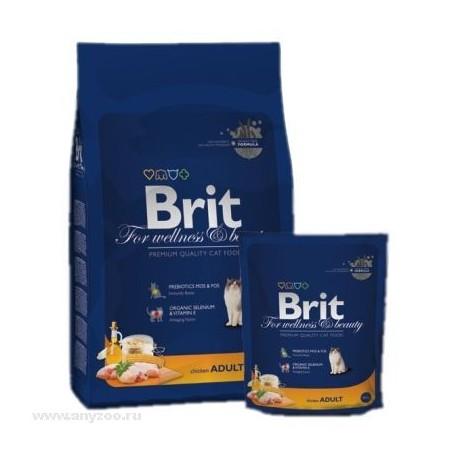 Brit Premium Cat Sterilized - Брит для стерилизованных кошек и котов с Курицей