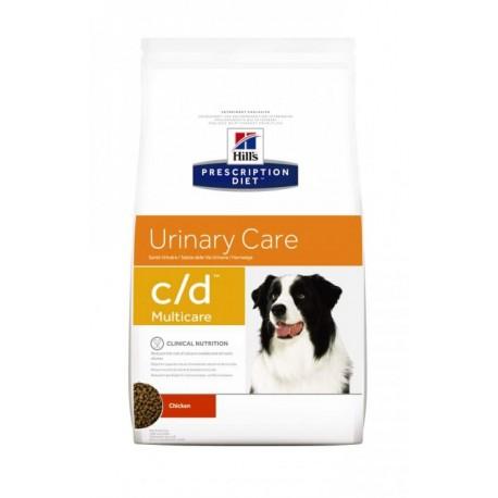 Hills PD Canine C/D Хиллс сухой корм для собак профилактика и лечение МКБ