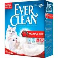 Ever Clean Multiple Cat  Наполнитель для нескольких кошек (красная полоса)