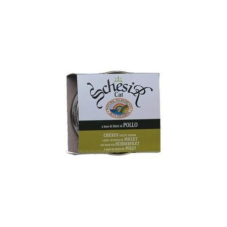 Schesir - Шезир консервы для кошек Цыпленка в собственном соку 85г