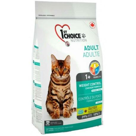 1st Choice Weight Control сухой корм для кастрированных и стерилизованных кошек Контроль Веса курица