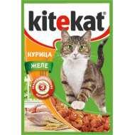 KiteKat - Китикет для кошек пауч Курица в желе