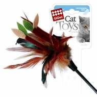GiGwi Дразнилка для кошек на стеке с листиками
