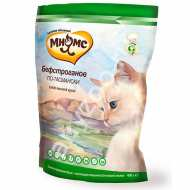 Мнямс Бифстроганов по-тамански Сбалансированный сухой корм с мясом страуса для взрослых кошек.