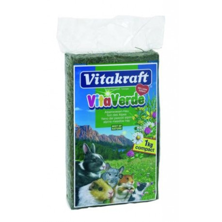 Витакрафт Vitakraft Vita Verde Сено с альпийских лугов