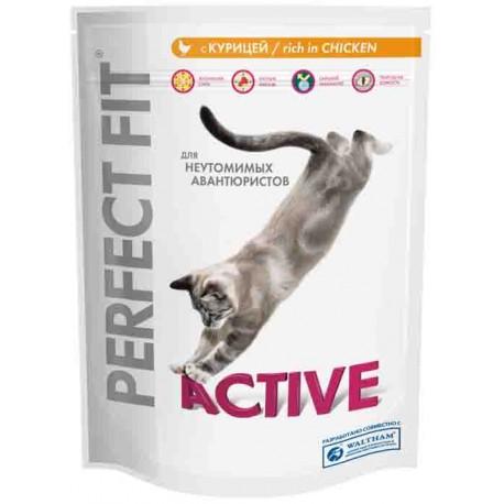 Perfect Fit Active -Перфект Фит Актив пауч для взрослых, активных кошек