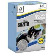 Bozita Tetra Pak Funktion Outdoor& Active кусочки Лося в желе для Активных кошек