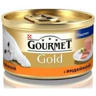 Gourmet Gold консервы для кошек Паштет с индейкой