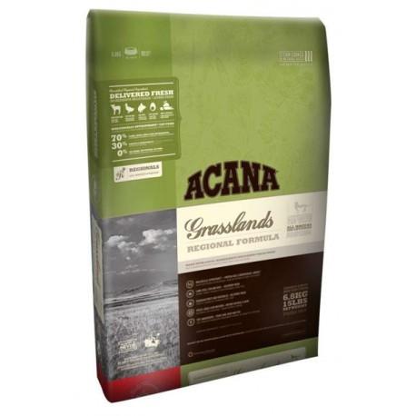 Acana Grasslands Cat - Акана сухой корм для кошек и котят с ягненком (Беззерновой)