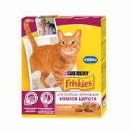 Friskies Hairball Фрискис сухой корм  для кошек для вывода шерсти из желудка