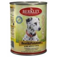 Berkley Beef & Potatoes  Adult Dog  Беркли консервы для собак Говядина с картофелем