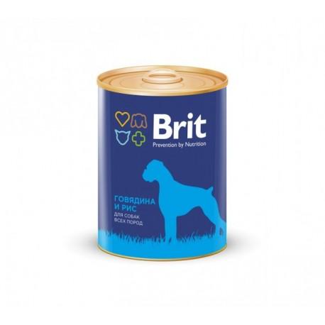 Brit Beef & Rice - Брит консервы для собак говядина и рис 850гр