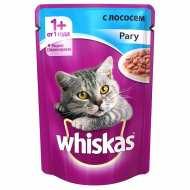 Whiskas - Вискас пауч для кошек Желе с лососем