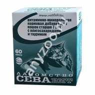 Ceva Витаминно-минеральная кормовая добавка для кошек старше 7 лет с олигосахаридами и таурином