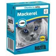 Bozita Tetra Recart Бозита Тетра Рекарт кон.для кошек Кусочки в желе со Скумбрией