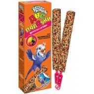 Зоомир Веселый попугай Две палочки для волнистых попугаев Фрукты+ягоды 2 палочки