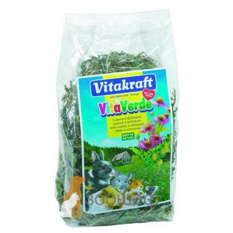 Витакрафт Vitakraft Vita Verde Сено Луговое с цветами шипомника
