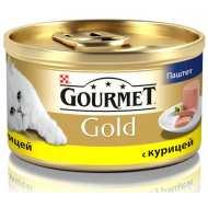 Gourmet Gold консервы для кошек Паштет с курицей