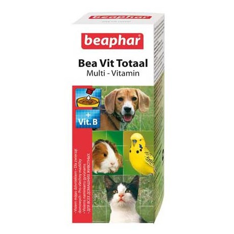 Beaphar VitTotal -Беафар жидкие видамины для кошек, собак, птиц и грызунов