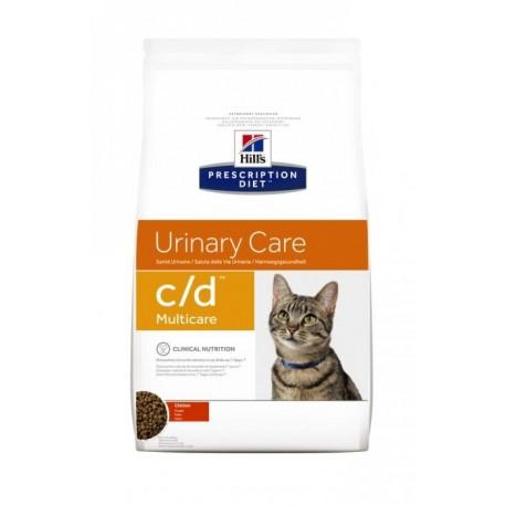 Hills Prescription Diet C/D - Хиллс диета C/D Низкоколорийный для кошек с Курицей