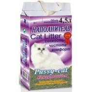 Пуси-Кет Наполнитель комкующийся (фиолетовый)
