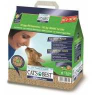 Cat`s Best Green Power  Древесный впитывающий для котят и кошек
