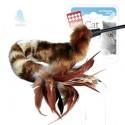 GiGwi Дразнилка для кошек с перьями на стеке 73 см