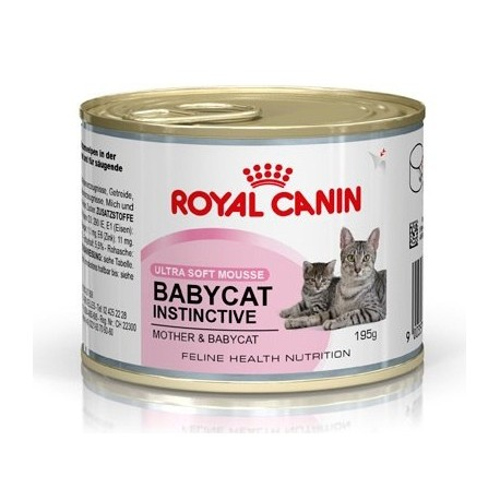 Royal Canin Babycat Instinctive 10- Роял Канин консервы для котят  до 4месяцев
